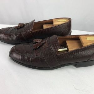Stacy Adams Shoes - Stacy Adams Men's Loafer Shoes Genuine Snake 11M